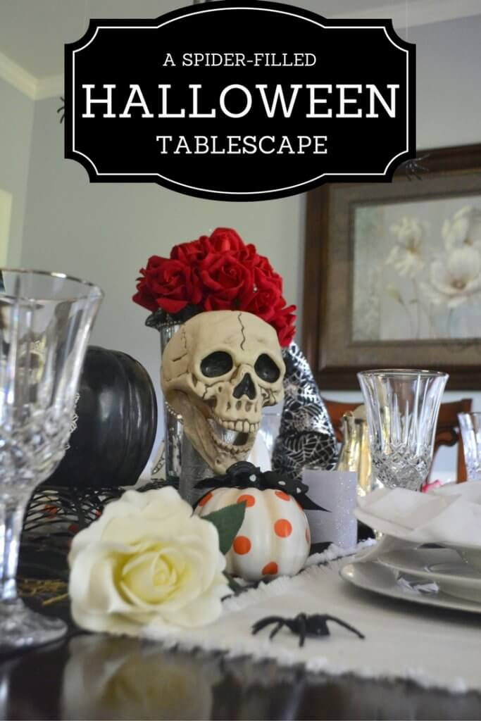 Check-out-this-cute-spider-filled-halloween-tablescape-using-items-from-around-the-house!
