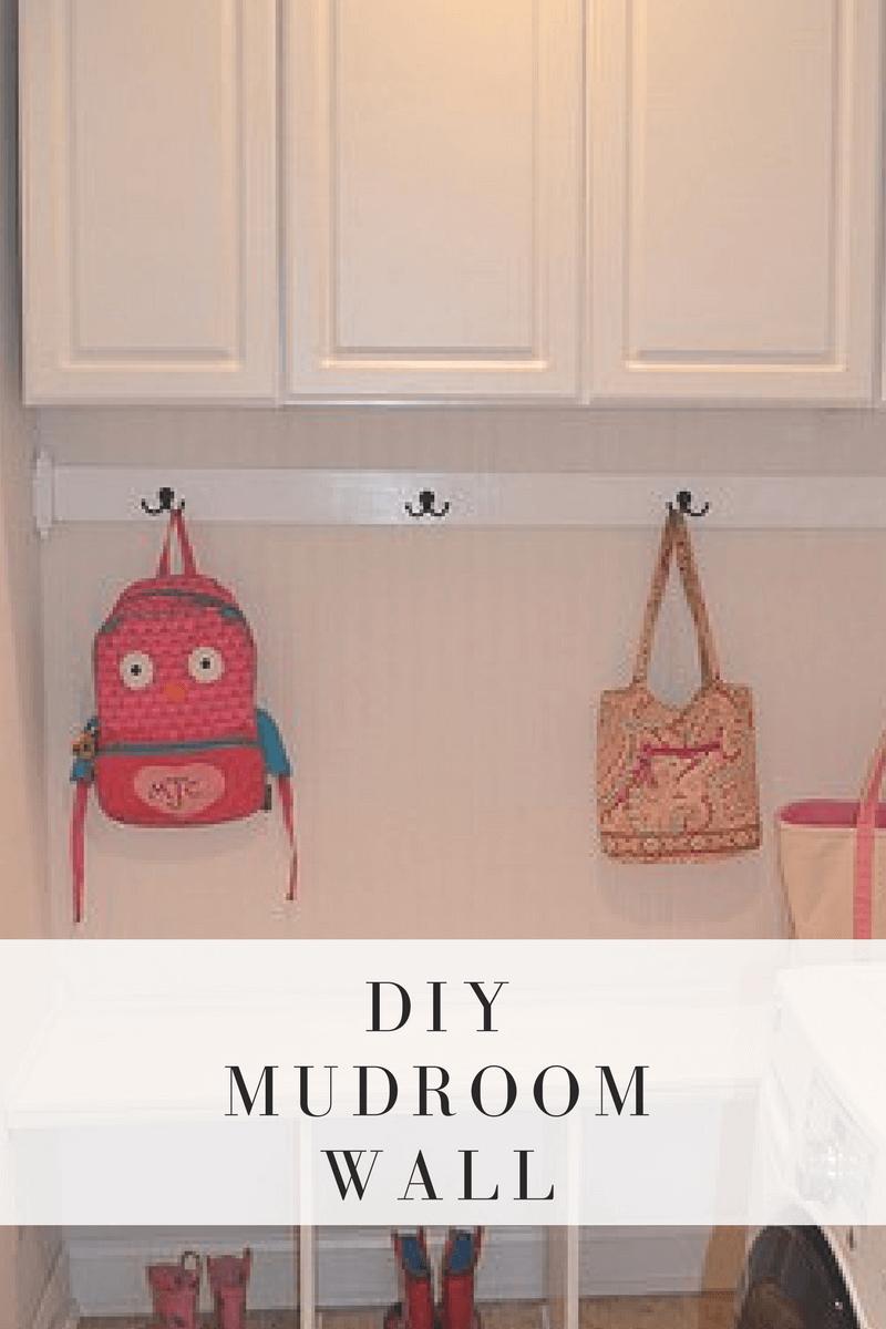 DIY Mudroom