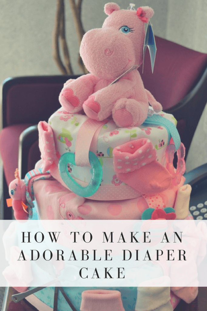 This #diapercake is amazing!  I need to remember this for my next #babyshower