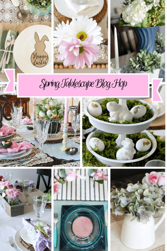 A collection of seriously adorable tablescapes for Spring to make decorating your table for Easter easy and pretty!