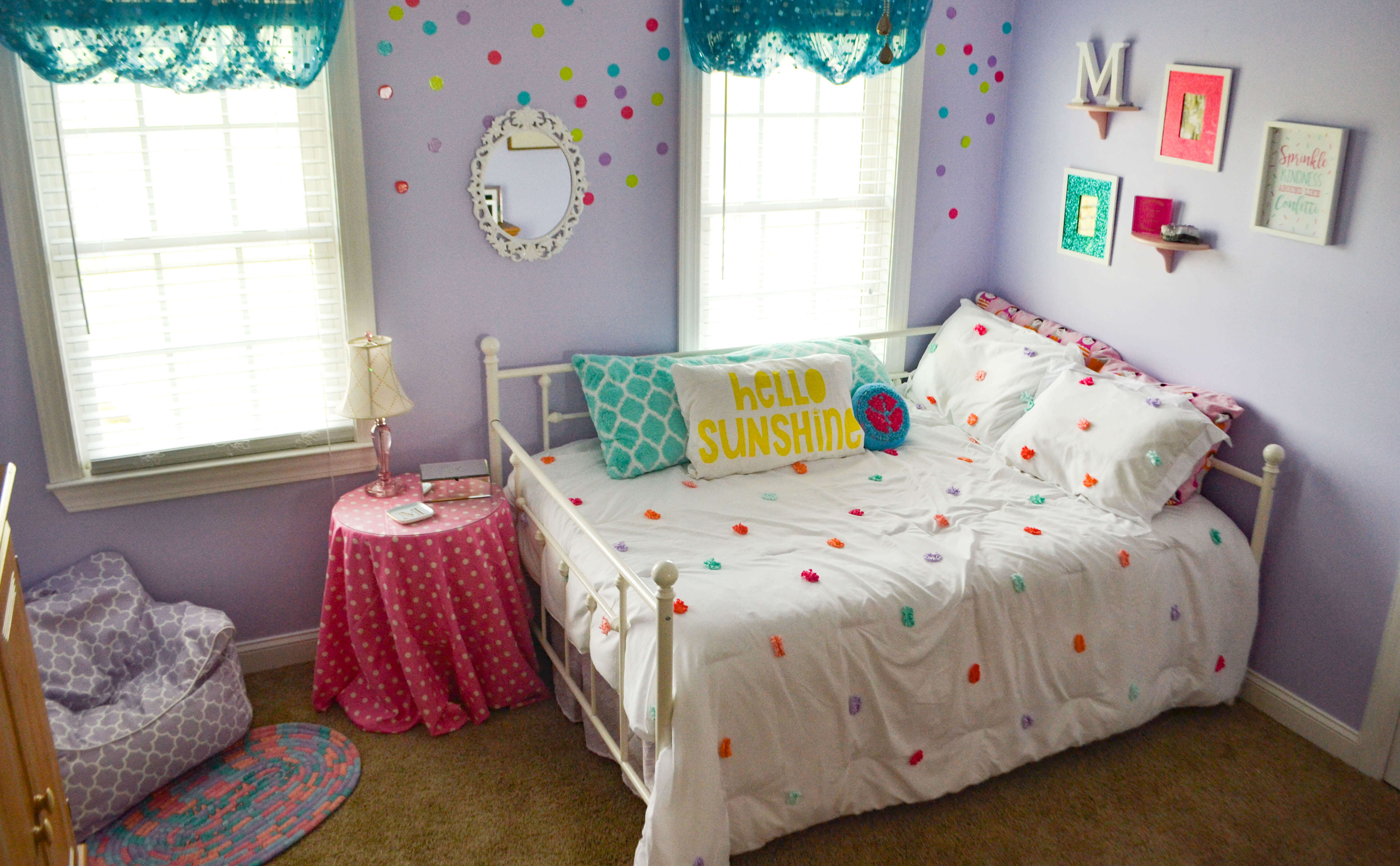 One Room Challenge: Girl's Bedroom Makeover {THE REVEAL}