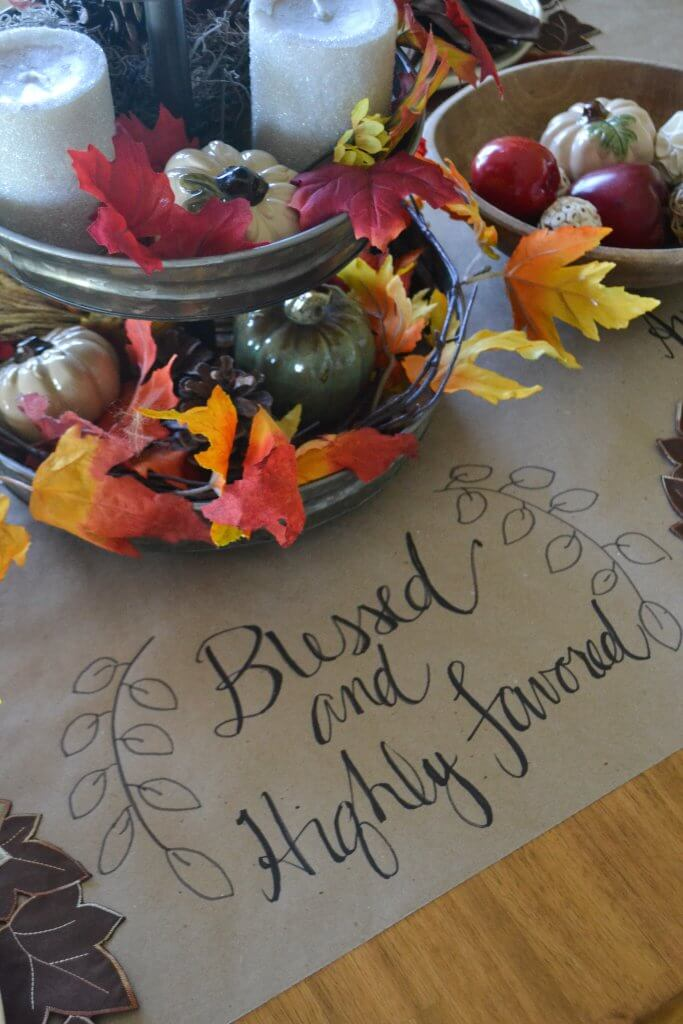 Love this beautiful fall tablescape!   Life on the Bay Bush