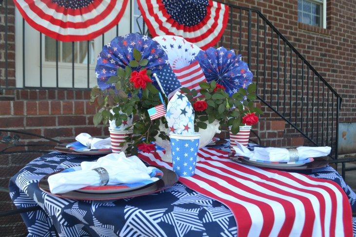 Patriotic Tablescape